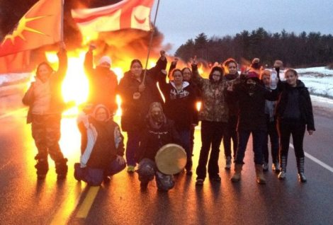 On Burning Tires and the Mi'kmaq Anti-Fracking Resistance