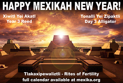 Happy Mexikah New Year!